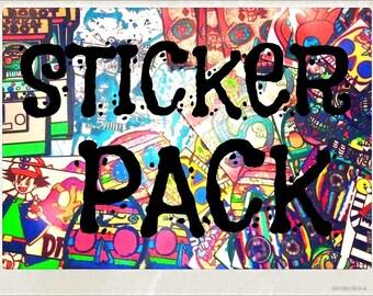 Diabolical sticker pack