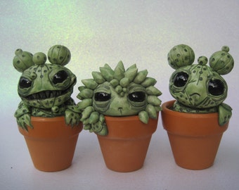 Cacti Sculpture MadeTo Order Set Of Three