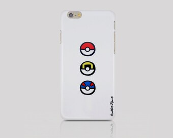 iPhone 6/6S Case - Poke Ball (00088)
