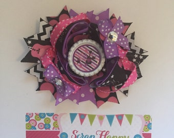 Rock Star Over the Top Hair Bow