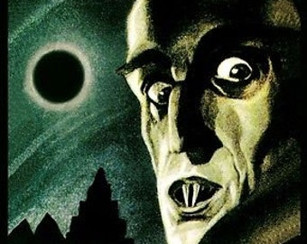 Nosferatu Classic 1922 Silent Vampire German Horror Film A3 Poster Reprint