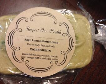 Sage Lemon Butter Soap