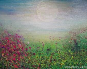 Abstract Landscape Painting Giclee Print ORIGINAL ART REPRODUCTION Prints On Canvas Inspirational Art Nursery Decor Wall Art Acrylic Prints