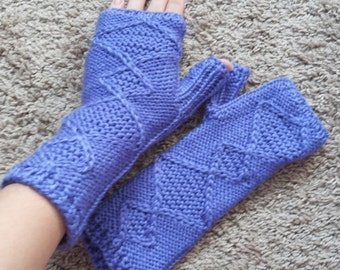 Arm Warmers, Ready to ship, Fingerless gloves, Hand Knit,Gift, Ladies  Hand Warmers