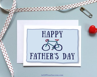 Father's Day Card, Bike Card, Father's Day Bike Card, Bike Card, Bicycle Card