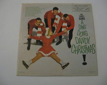 Rare! - The Three Suns - A Ding Dong Dandy Christmas - 1959  (Records)