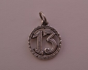 Silver Vintage Lucky Charm