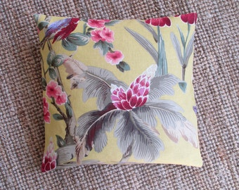 Decorative pillow cover, Laura Ashley fabric, 100% cotton, pillow cover to fit inner cushion 50x50 cm / 20x20 inches, Laura Ashley cushion