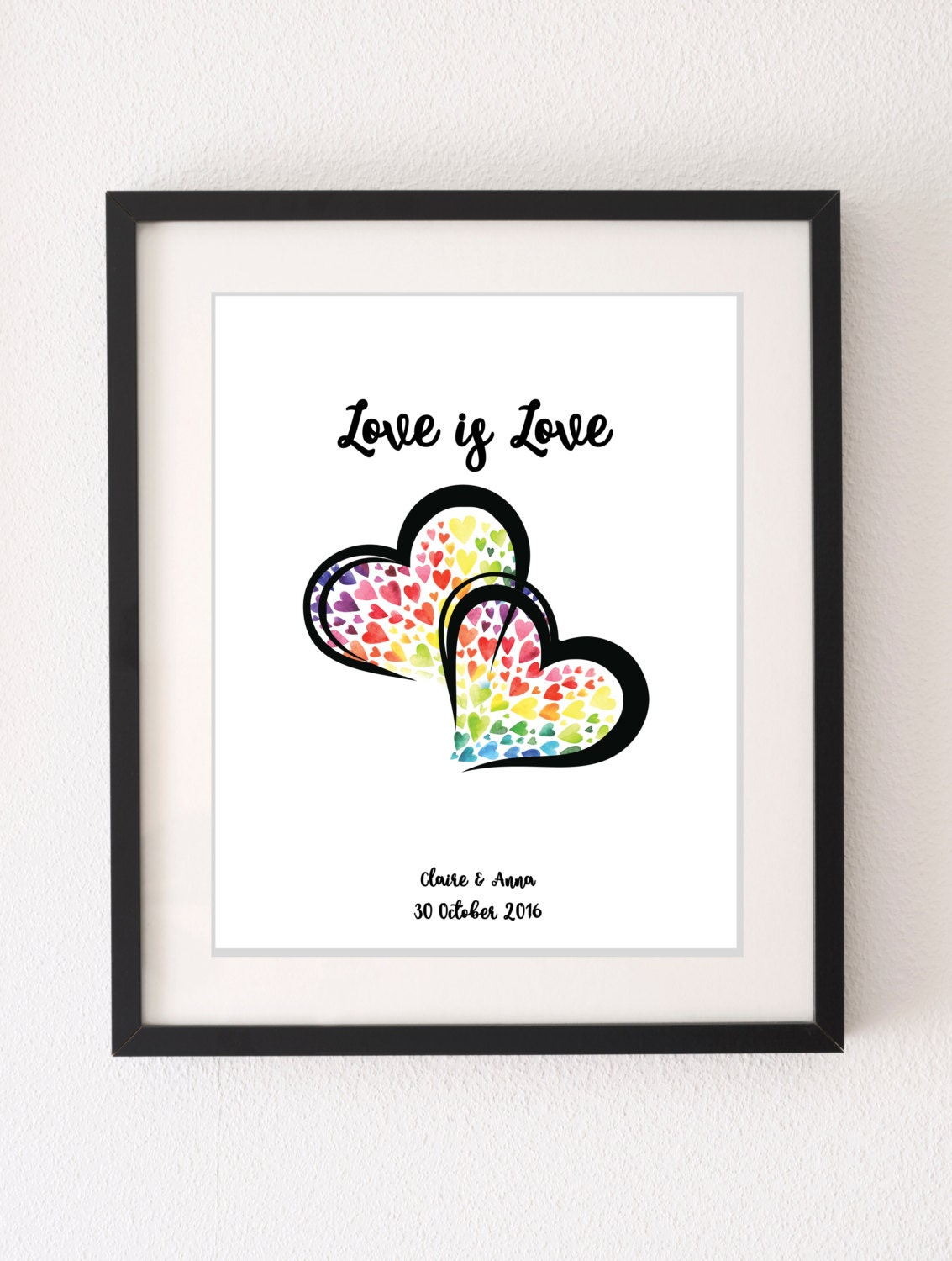 Gifts For Couple On Wedding: Lesbian Girlfriend Gift Gay Couples Wedding Gift Wedding