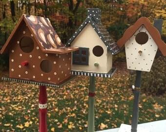 indoor birdhouse etsy. Black Bedroom Furniture Sets. Home Design Ideas