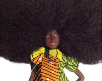 Medium Afro Doll