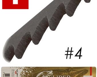 Super Pike Brand Jewelers Swiss Sawblades #4 Gross (49.552)