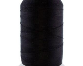 Silk Thread 1/2oz Spool Black Size 0 (CD7012)