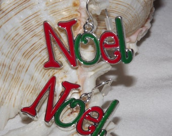 Noel Earrings, Holiday Earrings