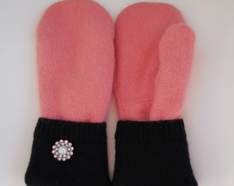 Cashmere  mittens, sweater mittens,gloves, made in Michigan, luxurey gift, accessories, winter accessory, gift for her, eco, gift for mom