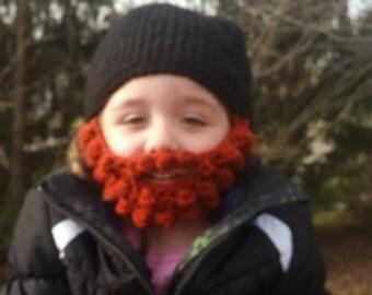 CHILD Beard and beanie