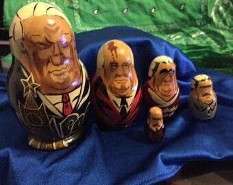 Vintage Soviet Union/Russian Nesting Dolls