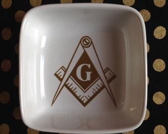 Masonic Ring Dish
