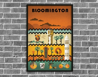 Bloomington Poster