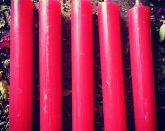 Solid mini taper spell candles • rootwork • magic • spell casting • candle magic