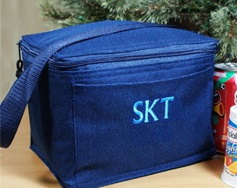 Monogrammed Lunch Bag, Insulated Lunch Bag