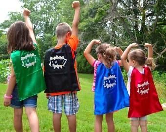 Tiny Tots Super Hero Pow Capes.
