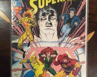 Vintage The Legacy Of Superman #1 DC Comics 1993 NM