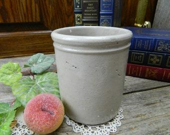 Vintage Stoneware Pottery Crock