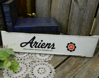 Vintage Type Advertising Screen Door Hardware Push Bar - Ariens Company Brillion, WI