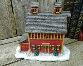 Vintage Folk Art Villages - Lang and Wise - Ol' Red Mill