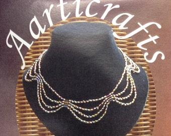 4 Strand Seed Bead Necklace Beadweaving Kit