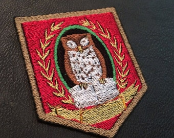 Clock Tower Embroidered Cosplay Patch