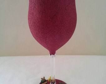 Sweet treat wine glass