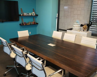 3-Inch Reclaimed Wood Table