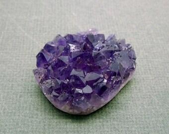 10% off Olympics Purple Amethyst Druzy Cluster - Natural Raw Purple Amethyst Cluster (RK3-B5)