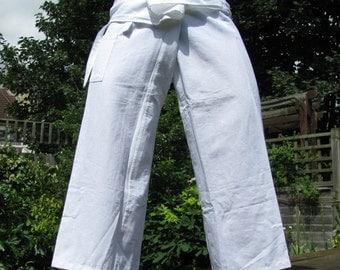 100% Organic Bamboo Thai Fisherman Pants. Western size