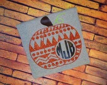 Monogram Pumpkin Shirt