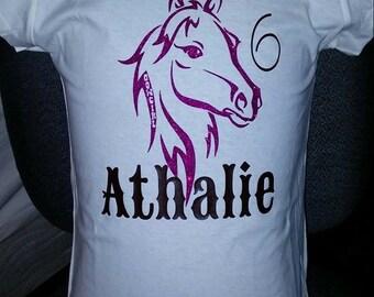 Cowgirl Birthday Shirt