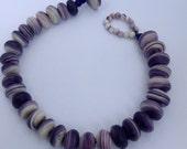 Custom Order Traditional round bead wampum bracelet