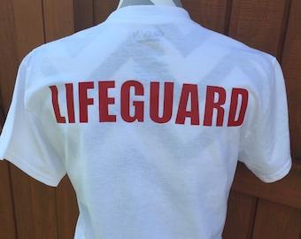 Lifeguard Monogram Tee Sizes Small-XL