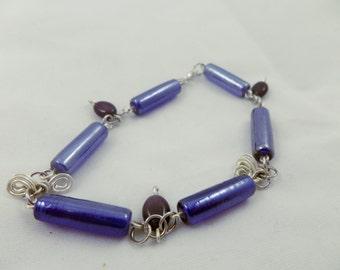 Deep Blue Bracelet