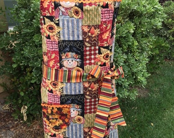 Harvest Aprons , womens holiday aprons, Thanksgiving Aprons