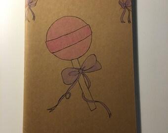 Hand drawn Moleskin journal