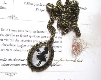 "Necklace ""Alice in the country of wonders"""