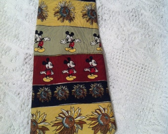 Mickey And Minnie Necktie Vintage Disney Serie # 556131-4286