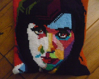 Katy Perry embroidered cushion