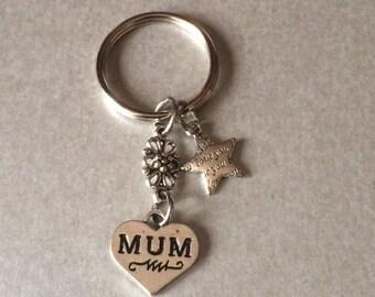 Mum Charm Keyring  - Keychain Bag Charm