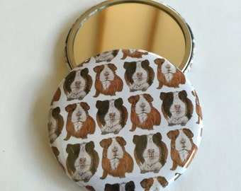 Guinea Pig Pocket Mirror