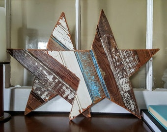 SOLD *** Reclaimed Wood Stars