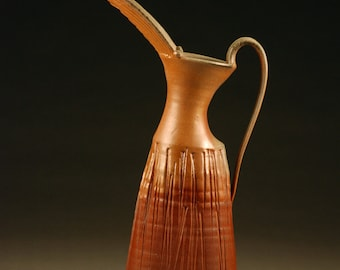 Large wood Fired Pitcher